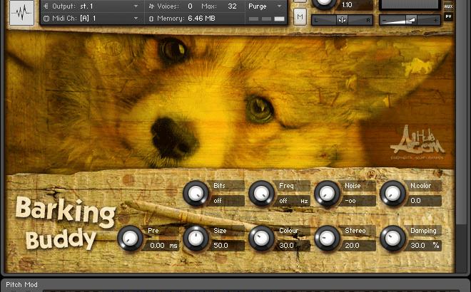 犬が歌うフリー音源の紹介文、訳がわからない