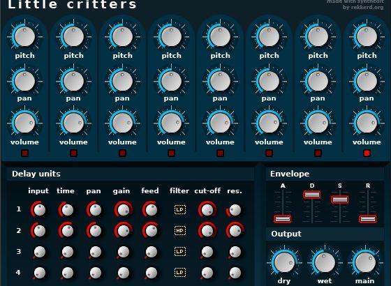 フリーの総合虫音源、『Little critters』をご紹介。