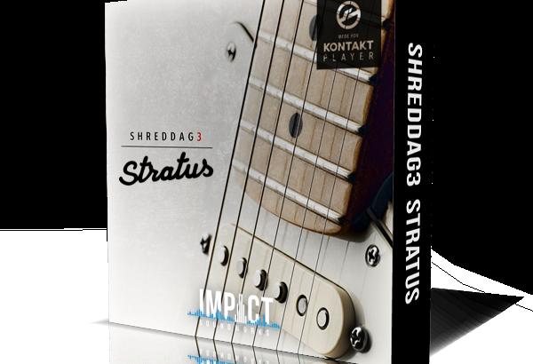 Impact Sound Worksよりギター音源『Shreddage 3 Stratus』が発売中