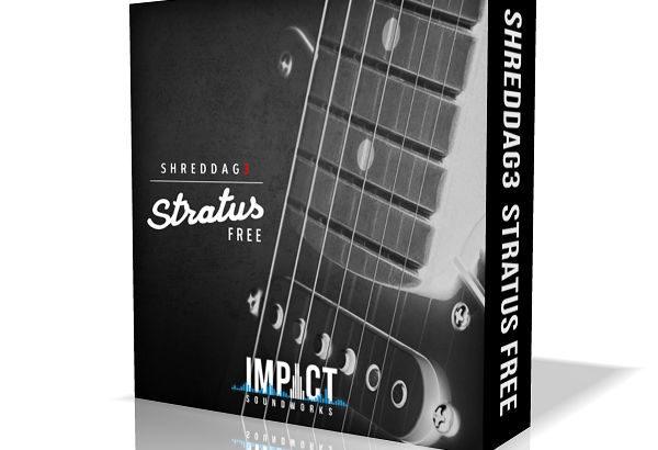 Impact Sound Worksが『Shreddage 3 Strat Free』を無償配布!