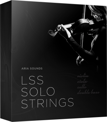 Aria Soundsより「LSS Solo Strings Bundle」80%OFFセール中!