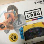 Nintendo LABO VR(ちょびっと)を買ったというだけの報告
